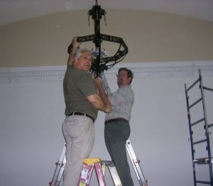 Restoring East Hartford Town Hall Lighting