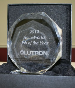 Lutron Award - 2013  Job of the Year
