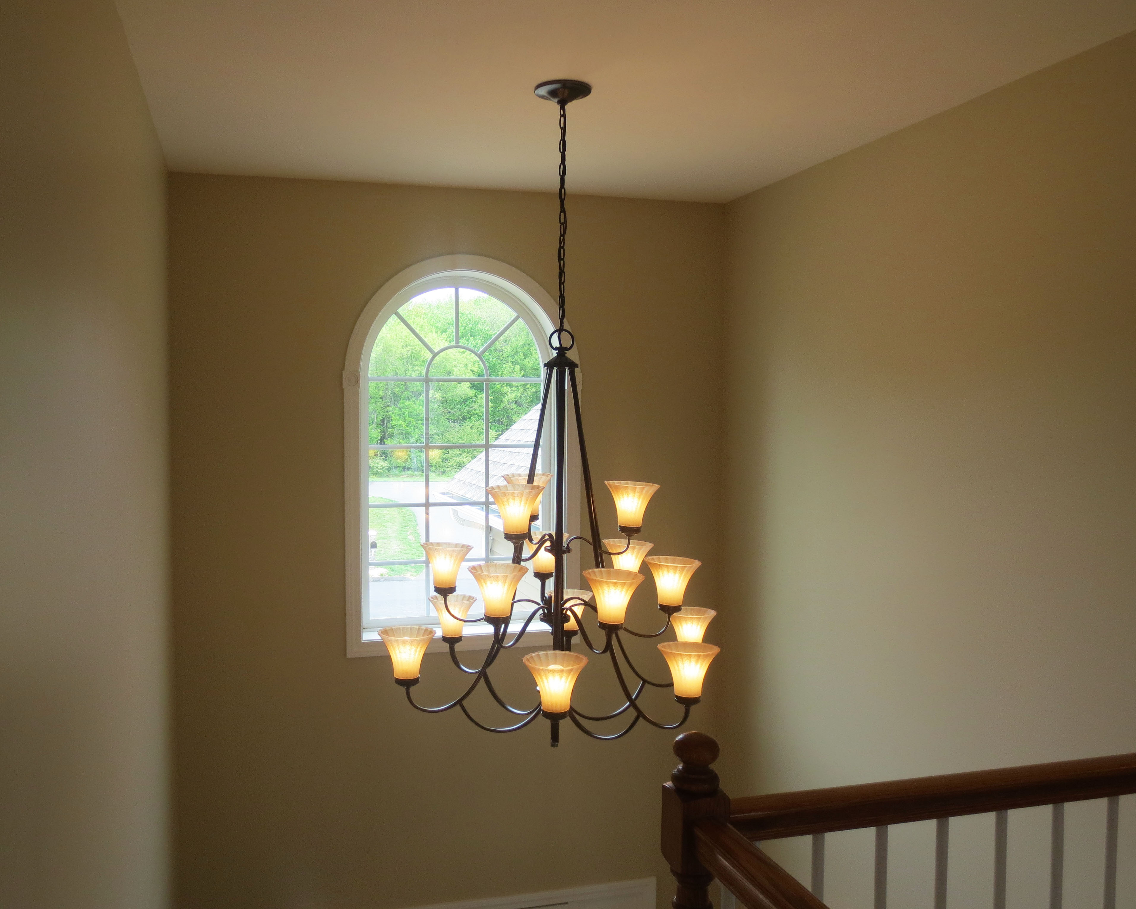 Project Home - Foyer Chandelier.