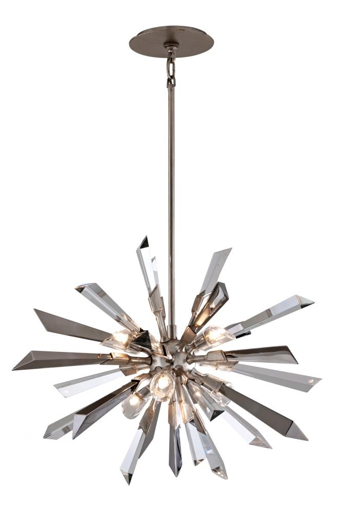 Six Light Pendant By Corbett