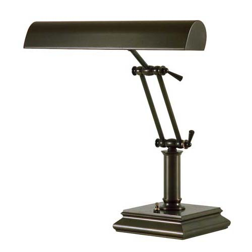 house of troy mahogany desk lamp