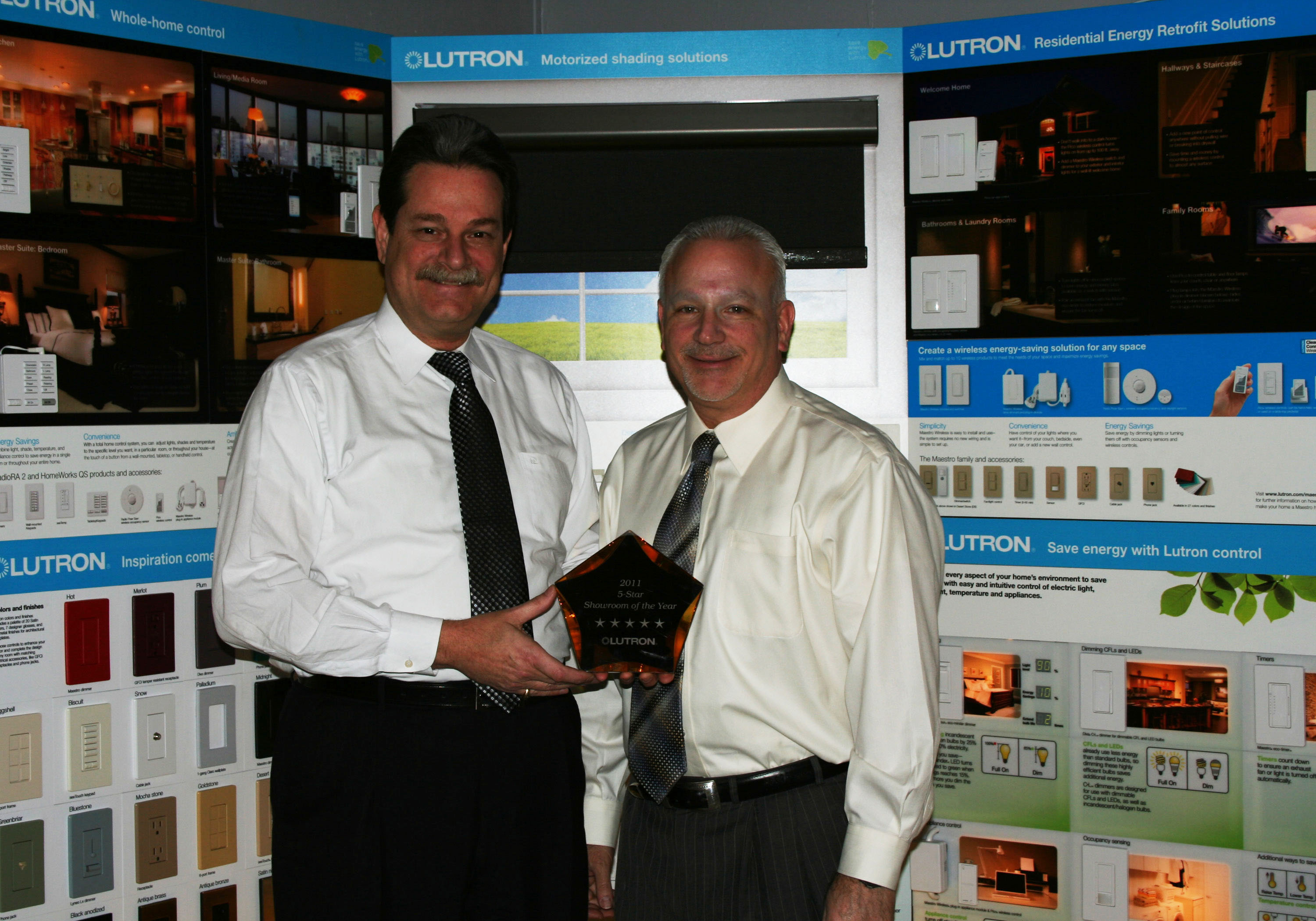 Ct Lighting Receives Prestigious Award For