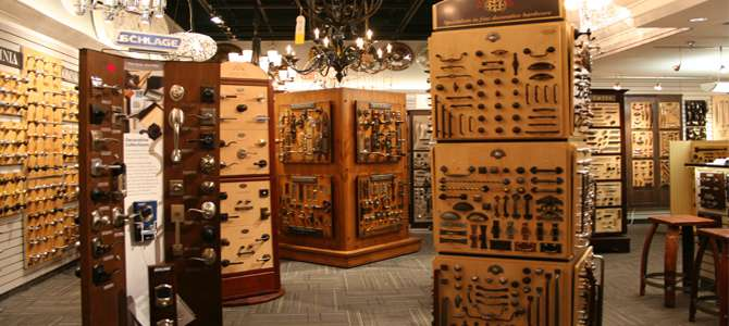 Decorative Hardware Showroom At Connecticut Lighting Centers