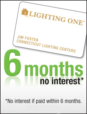 Get 6 months, no interest with the Lighting One credit card