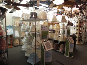 L&shade Department at Connecticut Lighting Centers & Welcome To Our Southington Showroom | CT Lighting