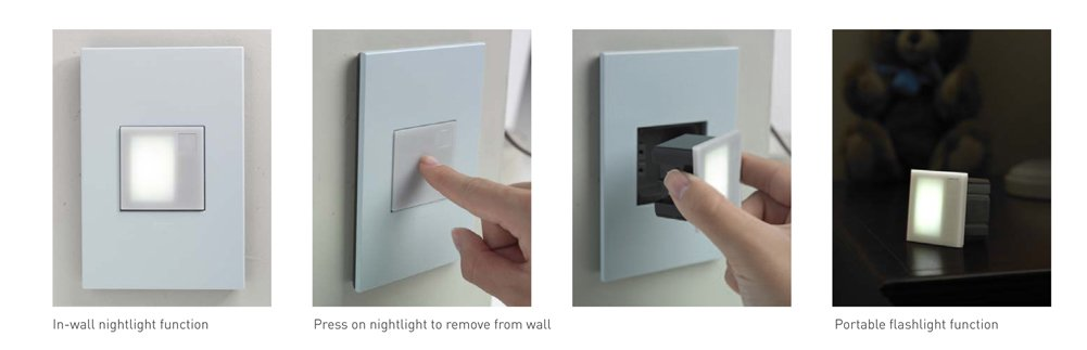 Legrand Portable/Pop Out Night Lights Click image to enlarge.