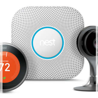 Nest Home Security products