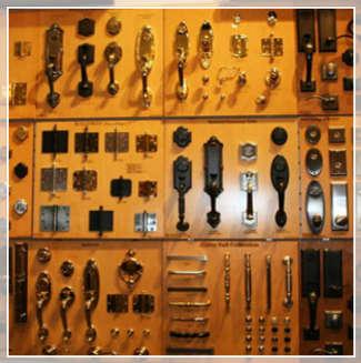 Baldwin Hardware Display