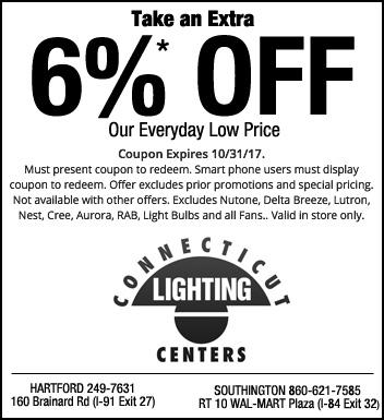 Ct lighting coupons