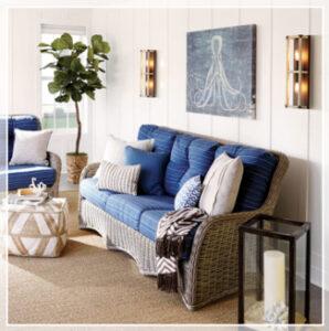 coastal style room