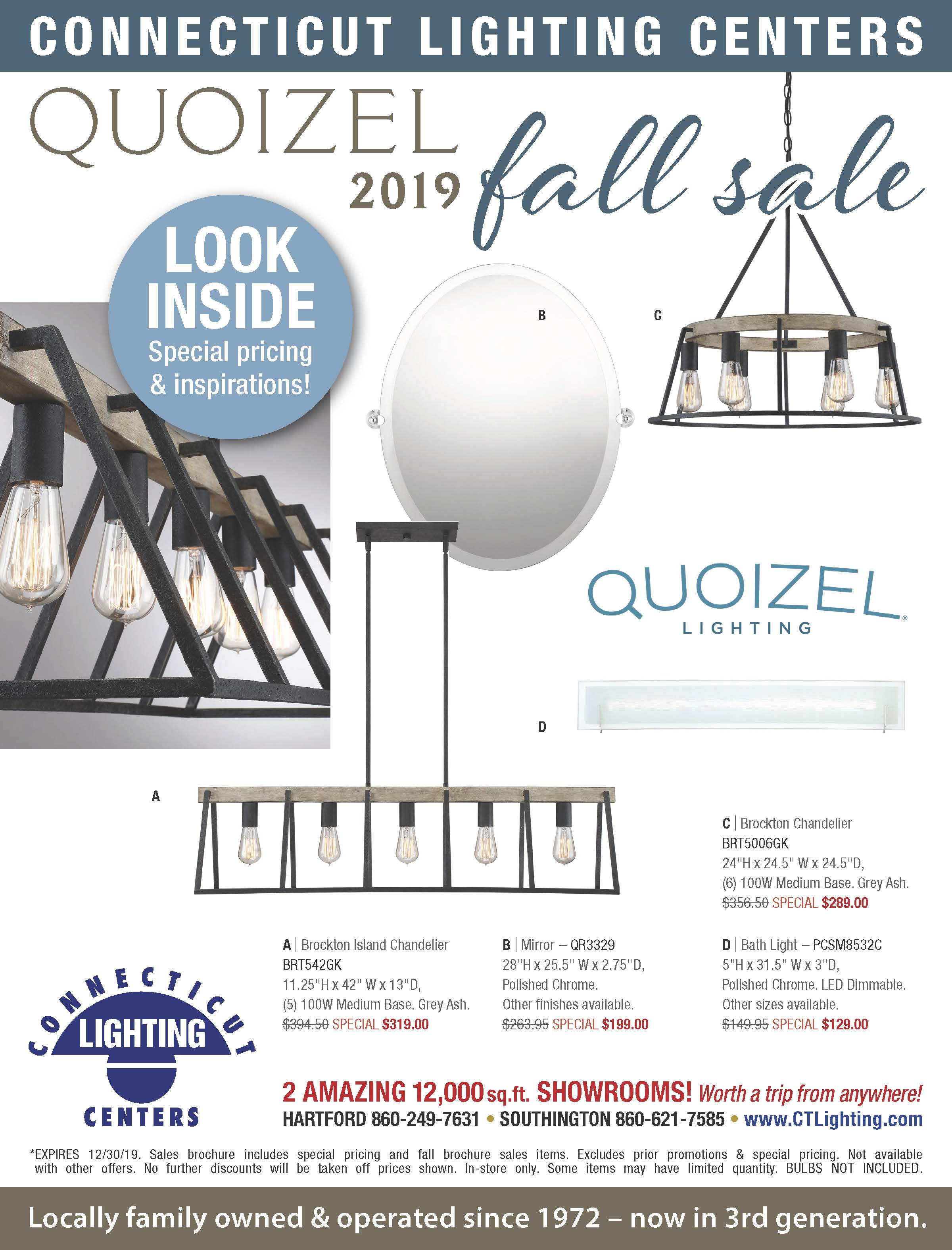Quoizel Fall Find Great Savings